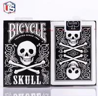 1 גולגולת סיפון סיפון אחורי אופניים גודל פוקר קלפי uspcc מהדורה מוגבלת אטום magic טריקים magic כרטיס