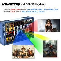 VEHEMO Mirror Link Steering Wheel Remote Control Automotive MP5 Video Player Car MP5 Support Rear View Multimedia Player