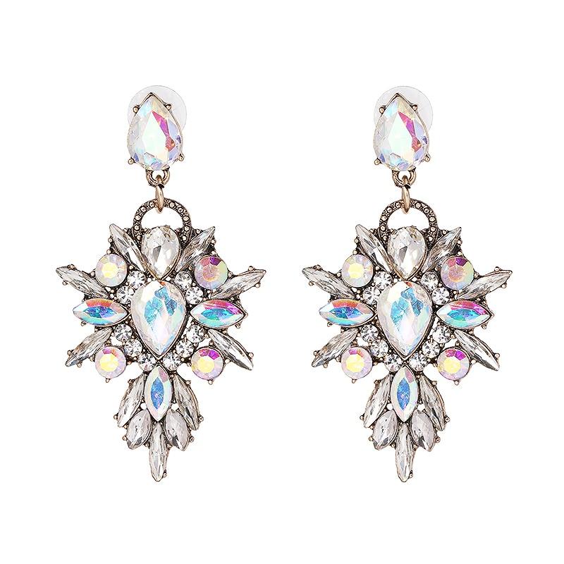Hete kleurrijke bloem Big Brand Design luxe Rhinestone Starburst - Mode-sieraden - Foto 4