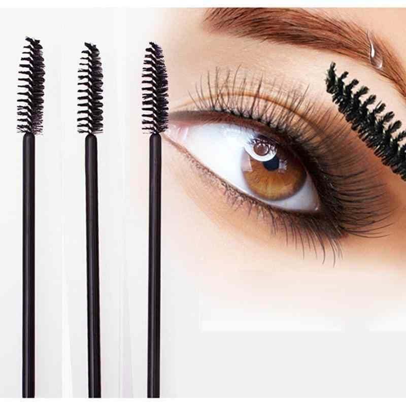 1/10 st Wimpers Borstel Wimper Roller Hoofd Zwart Wegwerp Mascara Cosmetische Gereedschap Make-Up Kwasten Professionele Make Up Gereedschap vrouwen