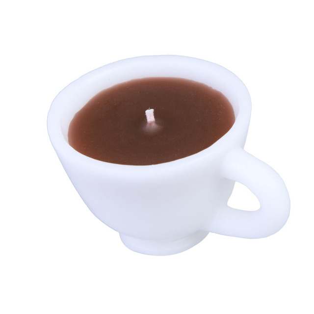 Coffee Cup Design Candle