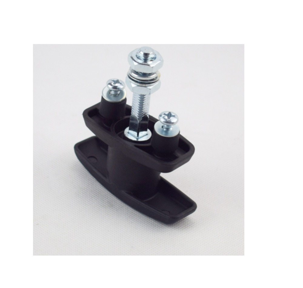 1PC T Handle Latch//Lock Keyed Alike Black Coated Fit For Cabinet Locksmith Gear