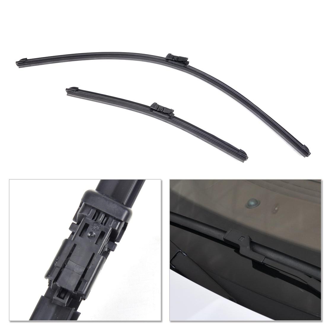 Citall 26 15 frameless bracketless rubber rain window windshield wiper blade for ford