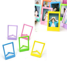FAI DA TE Mini Platic Photo Frame Per Le Foto Photo Frame-Fit Instax Mini Film per la memorizzazione di preziose foto-fit foto circa 3.9 in(China)