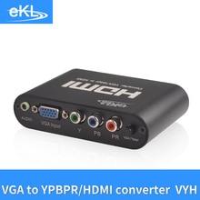 EKL VGA/YPBPRที่จะแปลงHDMI Vgaสัญญาณขาเข้าและhdmiสัญญาณ