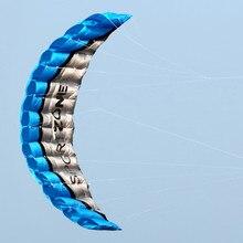 Withflying парусный власти parafoil кос line радуга кайт dual пляж синий