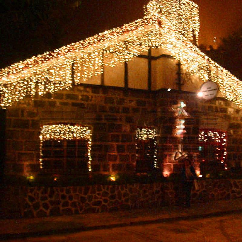 aliexpresscom buy 220v 144 led pisca curtain fairy light string led garland wedding garden xmas christmas lights outdoor decoration from reliable - Christmas Light Flasher Plug