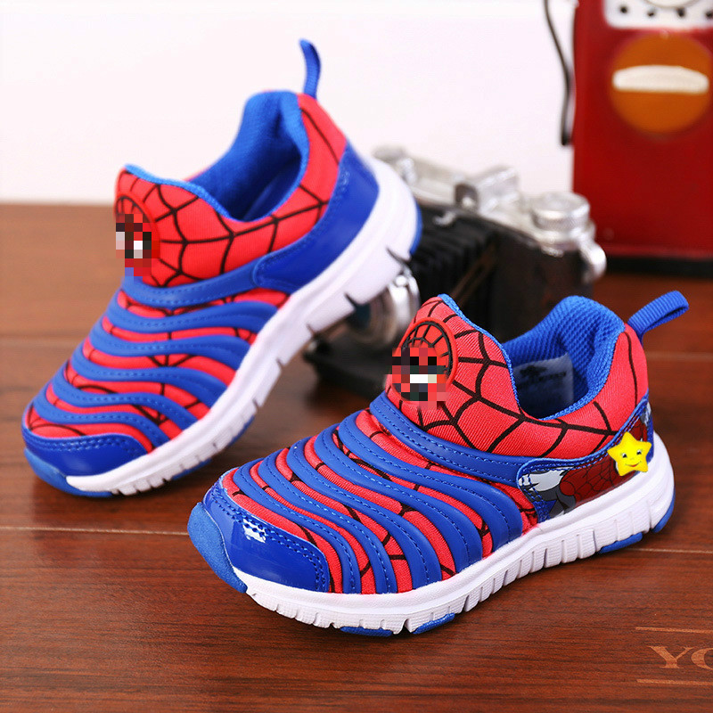 Children Sports Shoes Kids Cartoon Sneakers Kids Autumn Winter Shoes Soft Warm Sneaker for Girls Boys School Shoes 919
