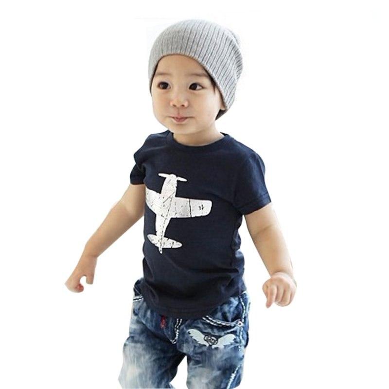 הכי חדש כותנה מטוסים דפוס בייבי בנים - בגדי ילדים