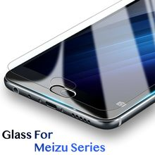 4pcs/Lot Tempered Glass Screen Protector Film for Meizu M3S M3E Mini M5C M5S M5 Note MX6 M6S S6 M6T M6 Note Protective Film(China)