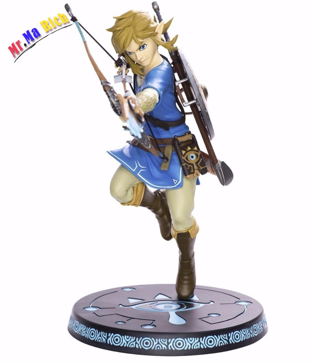 20 Cm The Legend Of Zelda Link Movimento Articolare Gioco Anime Action Figure Giocattoli In Pvc Figure Raccolta Per Gli the legend of zelda breath of the wild link statue pvc painted figure collectible model toy 10inch