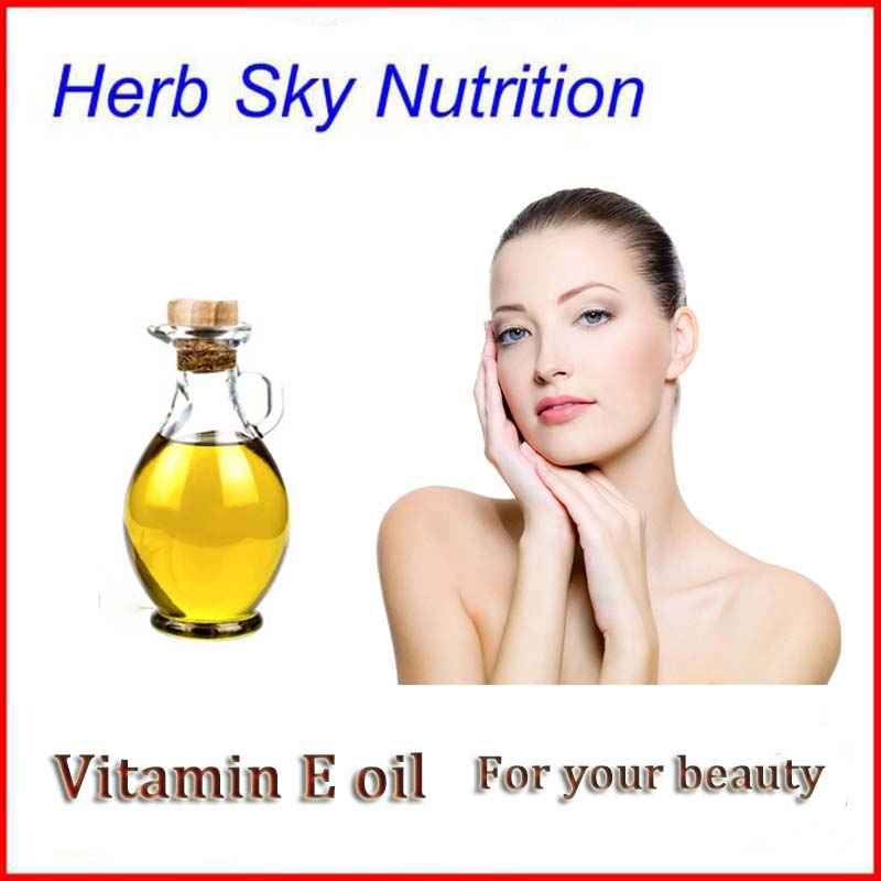 Manufacturer Provide High Purity Vitamin E Oil Alpha Tocopherol With Free Shipping 50ml/100ml free shipping natural vitamin e soft capsule supplement vitamin e 0 25g softgels 60 capsules