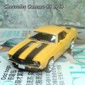 Новое прохладный 1/36 масштаб литья под давлением модели автомобиля игрушки старинные Chevrolet Camaro SS ( 1969 ) металл вытяните назад игрушечных автомобилей для детей / подарок