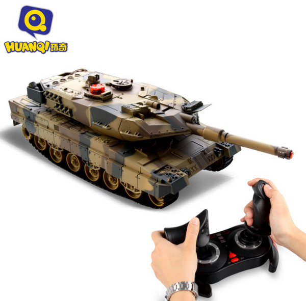 2.4G Huanqi 516c RC Infrared Battle Tank Automatic Shows Tank Remote Control Toys Tank for Children Gift 1pcs/lot 2 4g huanqi 516c rc infrared battle tank automatic shows tank remote control toys tank for children gift 1pcs lot