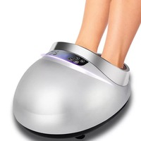 2019 Inteligent Electric Foot Massager Foot Massage Machine For Health Care Personal Air Pressure Infrared Feet Massager With he
