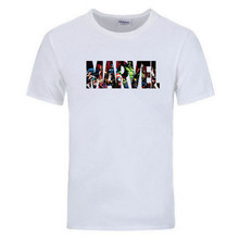 2019 new fashion Marvel T-shirt mens summer Avengers superhero high quality casual