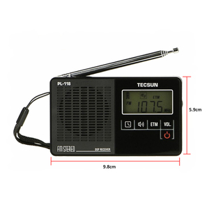 Image 3 - TECSUN PL 118 خفيفة للغاية راديو صغير PLL DSP FM الفرقة راديو الإنترنت المحمولة Am Fm راديو FM:76.0 108MH /87.0 108MHz