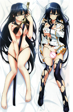 Senran Kagura Japanese Anime Body Hug Pillow Cover Sexy Female Pillowcase Life-sized pillow case Dakimakura 150 cm / 160 cm nitro super sonico magician ver dakimakura hug pillow