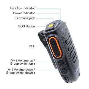 ميكروفون بلوتوث B01 ميكروفون لاسلكي محمول باليد لراديو IP الجيل الثالث 3G 4G Newwork مع تطبيق REALPTT ZELLO شاحن هاتف محمول يعمل بنظام تشغيل أندرويد
