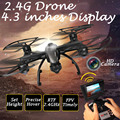 Real-time FPV Remote Control Helicopter 100m Control Distance UFO RC Drones 2.4G 4CH 6 Axis Gyro Hover Quadcopter 509
