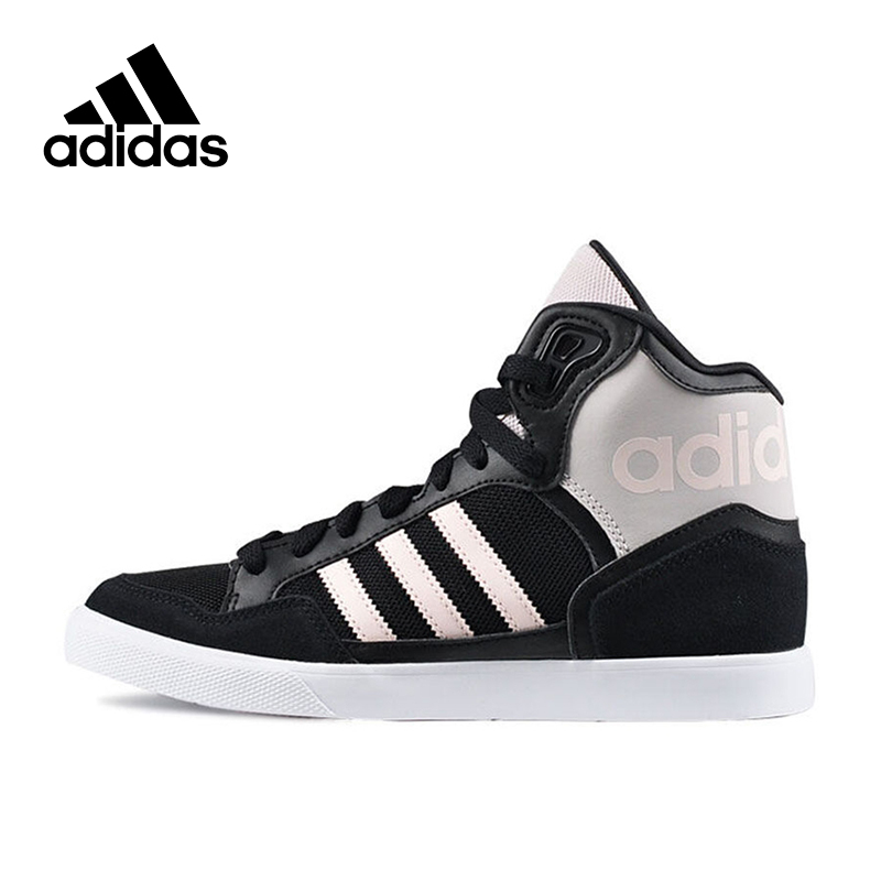 Official New Arrival Adidas Originals Women's High Top Skateboarding Shoes Sneakers цена