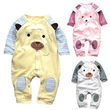 0-12Moths Baby Boys Girls Soft Cotton Romper Bodysuit Newborn Infant Clothes