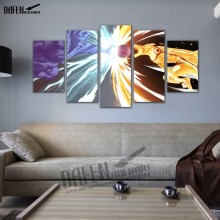 5 Panel Naruto Poster picture Wall Art home Decor (7 styles)
