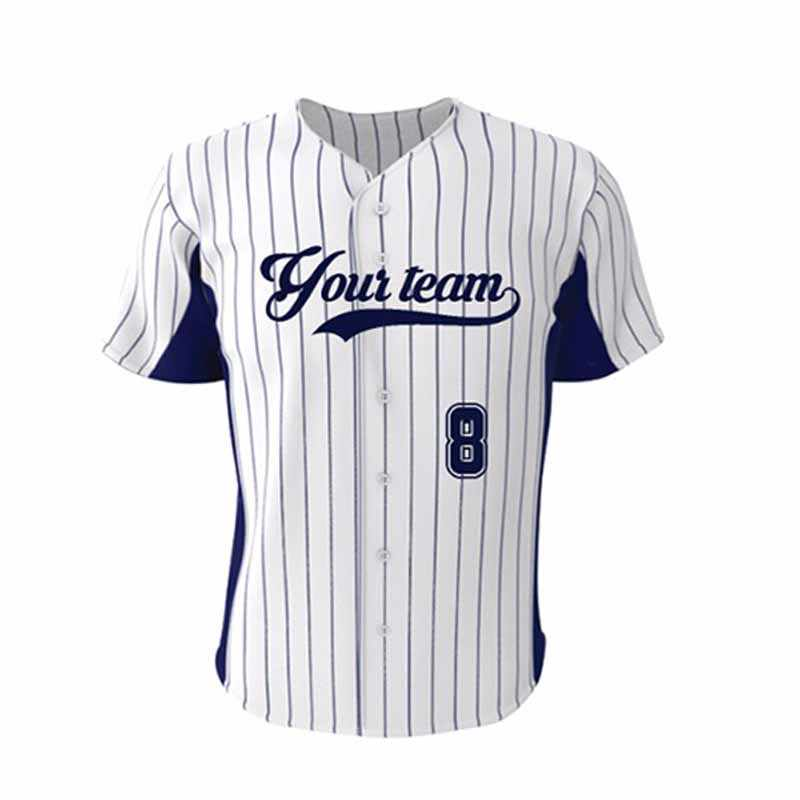Kawasaki Brand Stripes Baseball Top Jersey Youth Collage Hip Pop Style Custom Quick Dry Knitted Mens Softball Shirt Jerseys