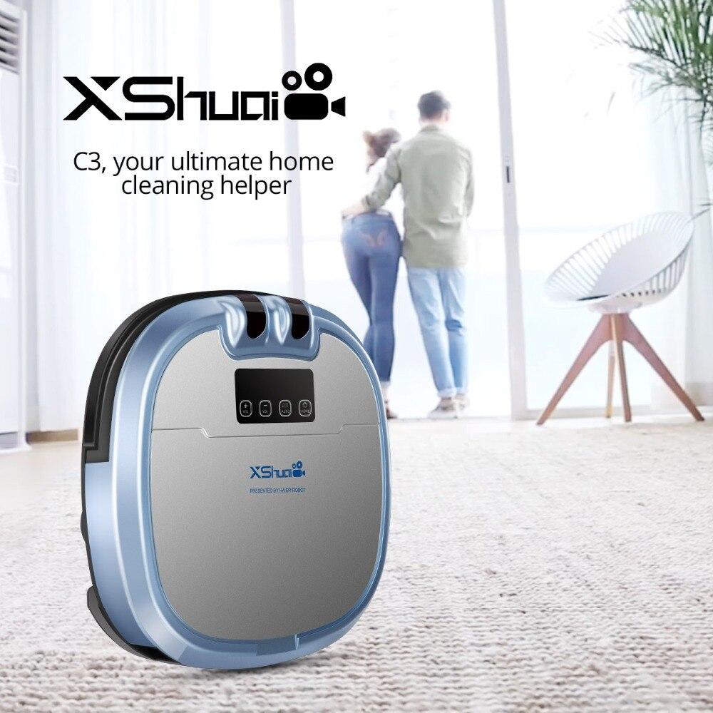 Haier Xshuai Hxs C3 Smart Vacuum Cleaner Robot Built In