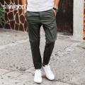 SIMWOOD 2017 New Arrival Spring Summer Casual Pants Fashion Trousers  length Slim Fit KX5547