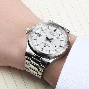 Image 3 - Rafa Tiger/RT biznesmenów najwyższej klasy ekskluzywna sukienka zegarek mechanizm automatyczny mężczyzna RGA8015 316L z litej stali Super świecenia