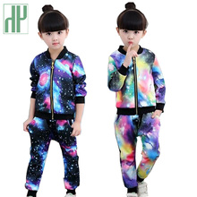 Children's clothing for girls autumn winter Jacket   Pants boutique kids clothes  Set Sports Suit Tracksuit 3 6 10 years