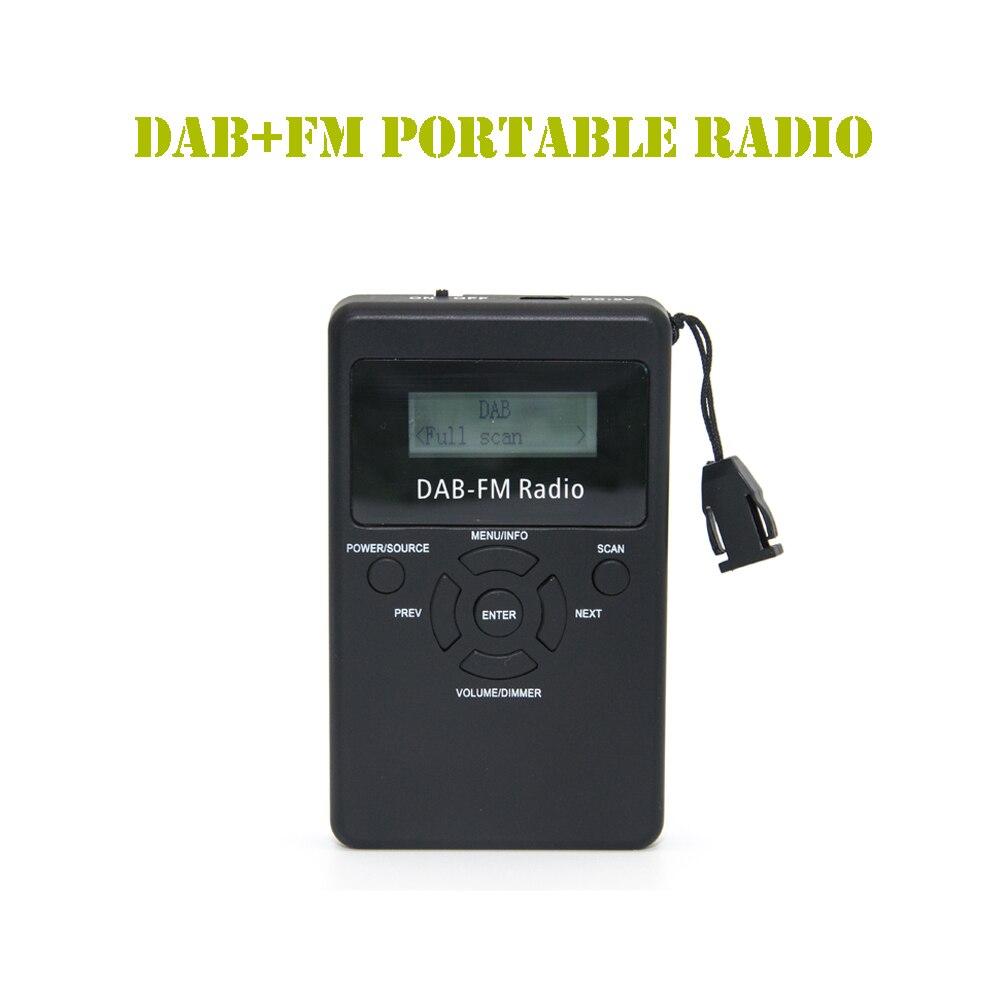 /fm Rds Radio Tasche Digitale Verarbeitung Empfänger Mit Akku & Kopfhörer Duftendes In Aroma Realistisch Coolvox Da-839 Tragbare Dab
