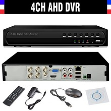 2016 New CCTV 4ch 720P DVR H.264 Recorder AHD four Channel CCTV four CH 720P Community Video Recorder Surveillance AHD DVR