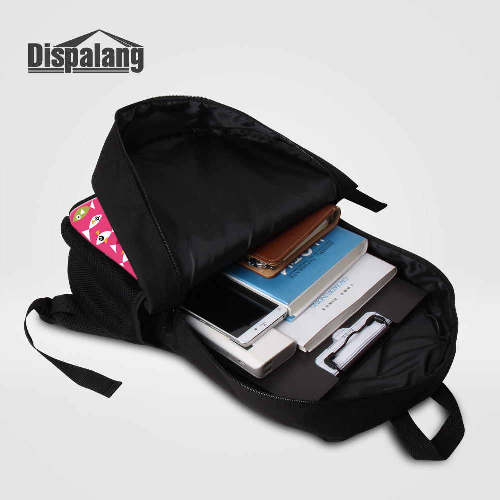 Dispalang Personality Basketballs Printing School Bags For Teenage Boys 2 PCS/Set Backpacks Pencil Case Soccers Mochila Rucksack