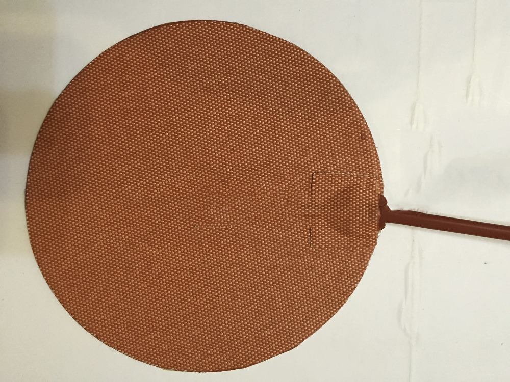 Dia120mm 36W 12V,Circular Silicone Heater Kettle Vacuum Chamber Heating Element Paint wax electric heat tracing ndustrial Heater dia 400mm 900w 120v 3m ntc 100k round tank silicone heater huge 3d printer build plate heated bed electric heating plate element