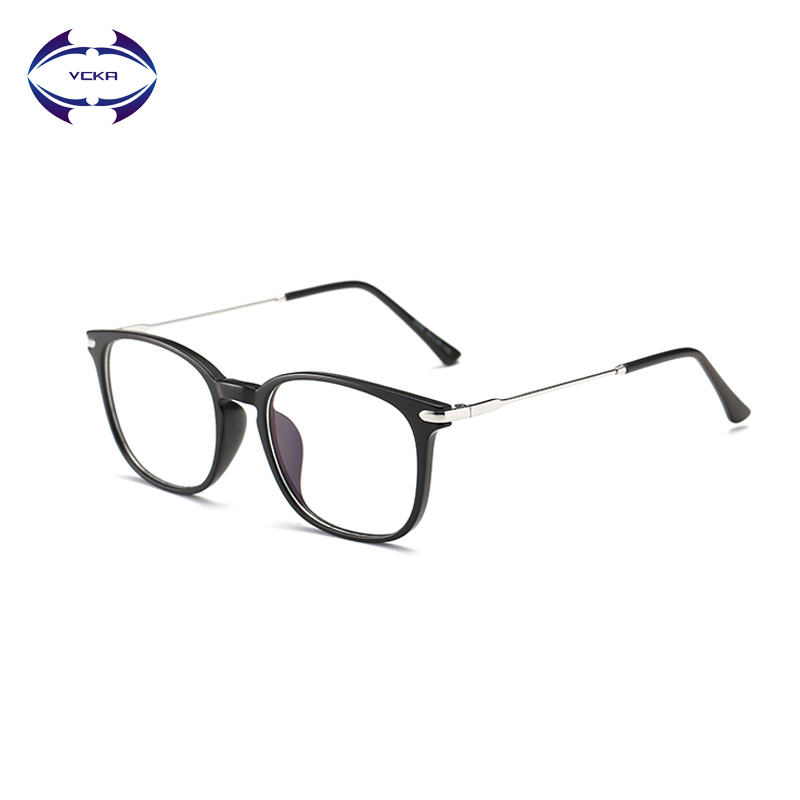 VCKA TR90 Anti Blue light Goggles Reading Glasses Radiation-resistant clear lens Glasses Computer Gaming Glasses Frame Eyewear