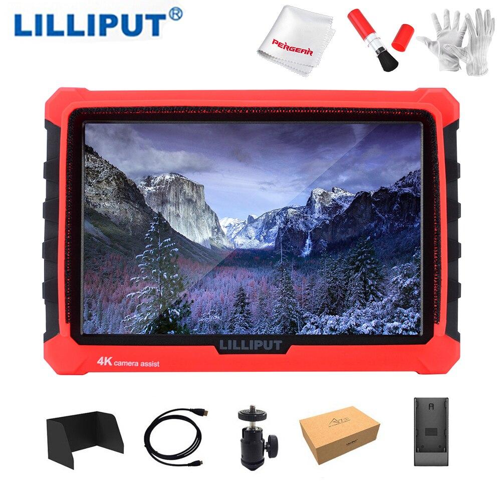 Lilliput A7S 7 pouce Sur Le Champ de La Caméra Moniteur Prend En Charge 4 k HDMI Entrée Sortie de Boucle 1920x1200 Résolution Native pour DSLR Sans Miroir