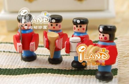 1/12 Dollhouse Miniatue Accessary Toy Band 4 Bandsman