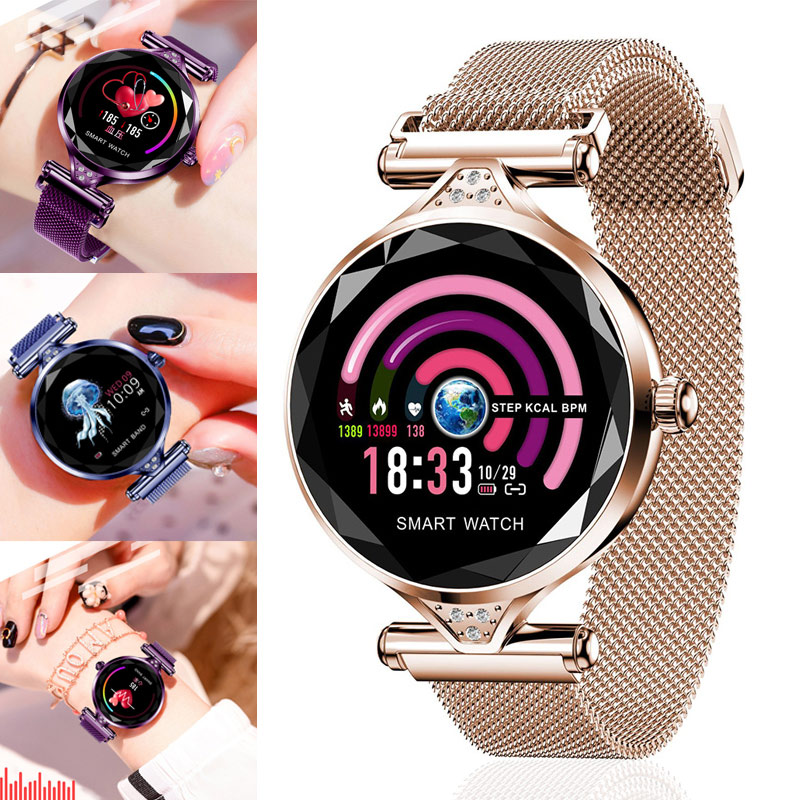 1 Pcs Women Smart Watch Bracelet Bluetooth Heart Rate Monitor Pedometer for Android iOS KQS81 Pcs Women Smart Watch Bracelet Bluetooth Heart Rate Monitor Pedometer for Android iOS KQS8