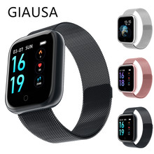 GIASUA Smartwatch 2.5D glass display blood oxygen gorilla blood pressure wing IP68 waterproof smart activity tracker все цены