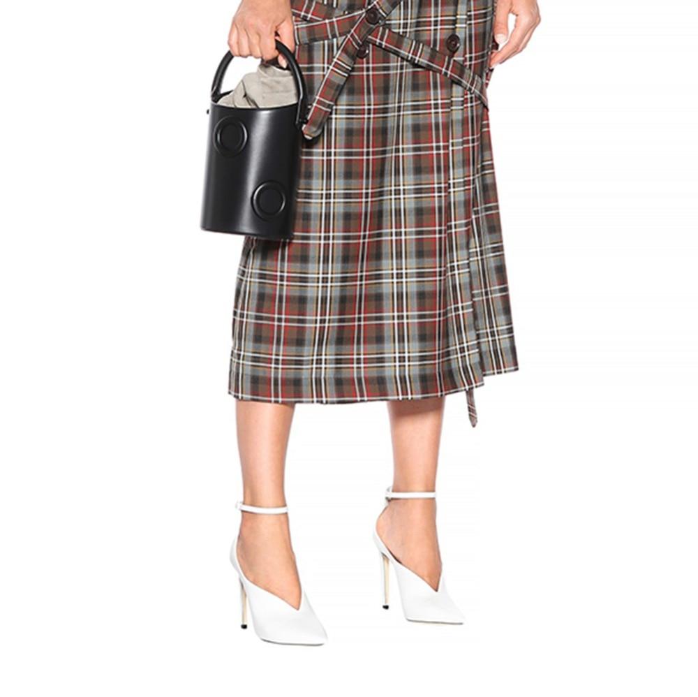 De Tacones Boda Verano Mujeres Tacón Negro Correa Vestido Elegante Black Corte Alto El Bombas Vampiro 2018 Damas Zapatos Punta Tobillo Blanco Con En RAdvqzwRx