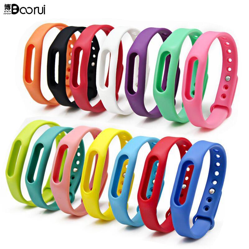 Hot  Mi 1s Band Strap Colorful Mi Belt Strap Miband Bracelet Wrist Strap Pulseira Smart Wristband Heart Rate Varied  Colors