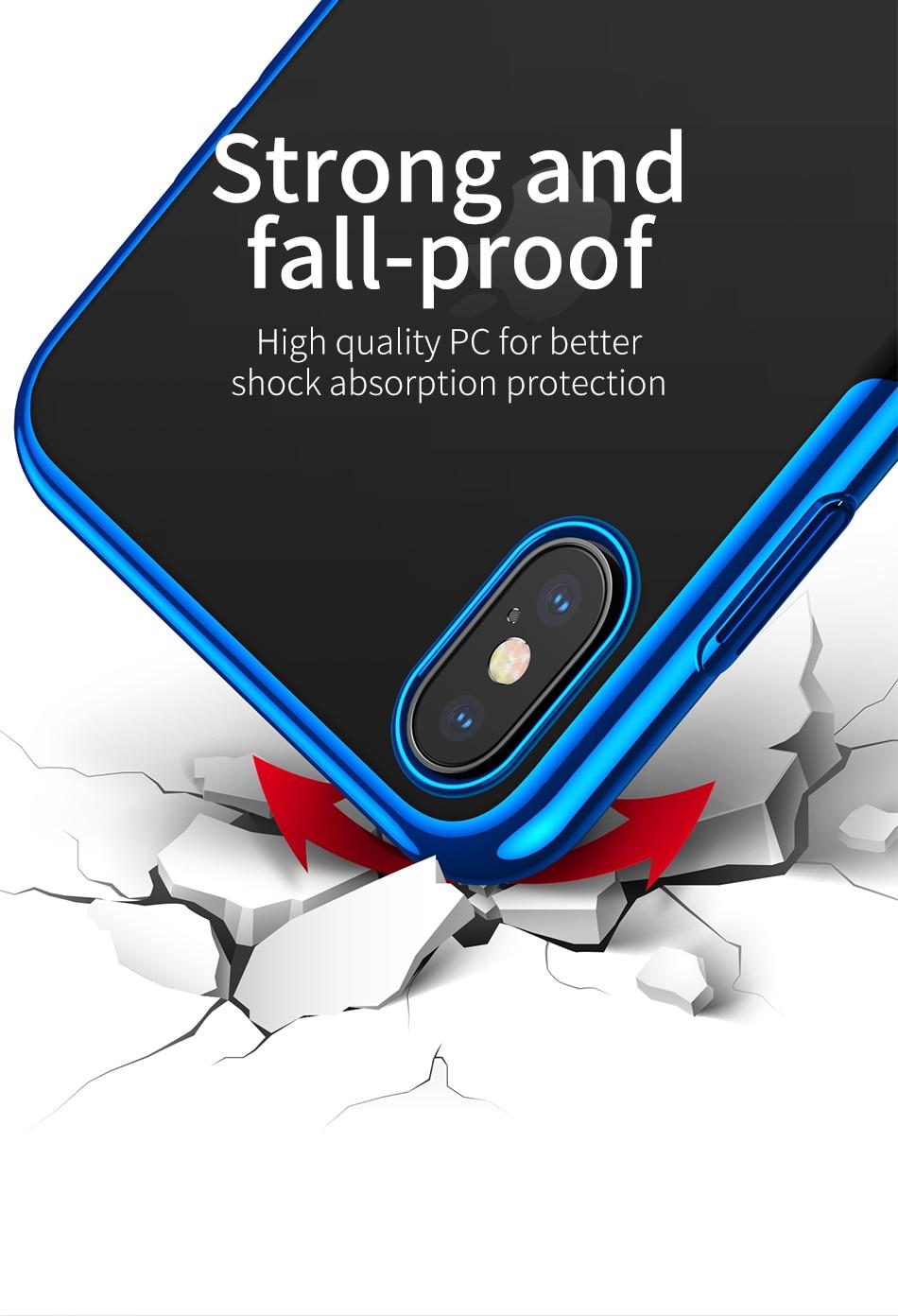 Baseus Hard-Plastic Case iPhone XS-XS Max-XR