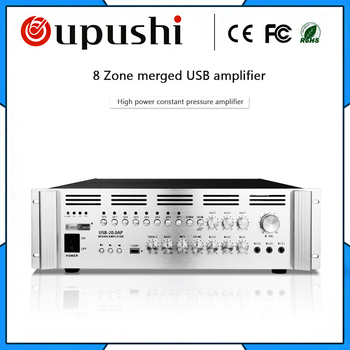 2000w power amplifier  with usb High power amplifier