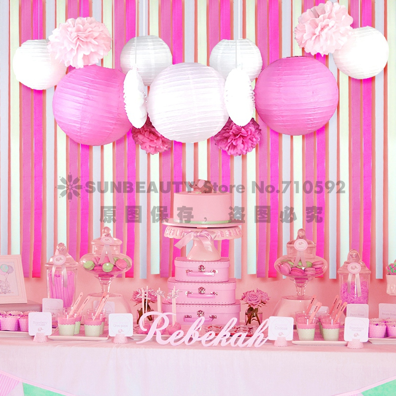 Baby shower picture more detailed picture about set of for Baby shower decoration set