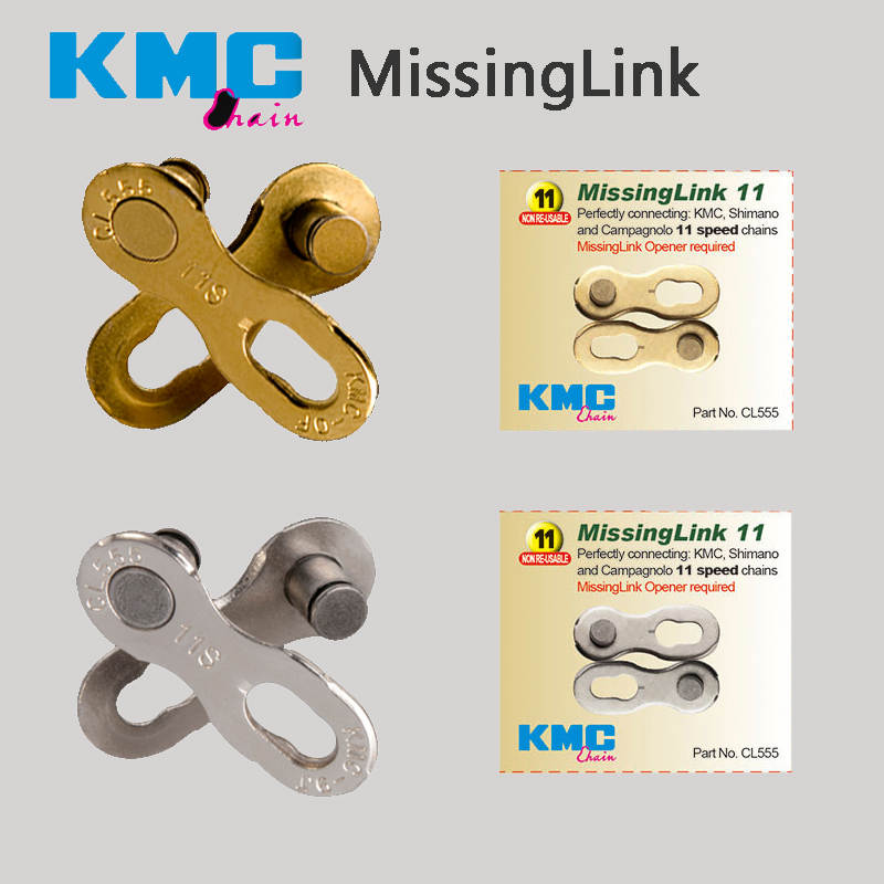KMC Original Cycle Zone Silver Gold  Missing Link  8 S 9 S 10 S 11 S Speed Bicycle Chain Link  quick magic button KMC Original Cycle Zone Silver Gold  Missing Link  8 S 9 S 10 S 11 S Speed Bicycle Chain Link  quick magic button