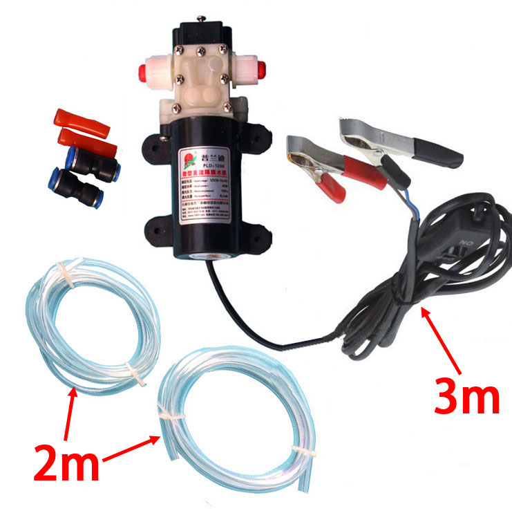 New PROFESSIONAL Crocodie Clip DC 12V Engine Oil Extractor Change Pump Engine oil Diesel Suction Pump Extractor Transfer Set