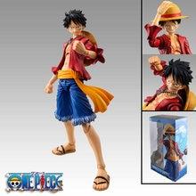 Аниме One Piece 18cm BJD шарнирные соединения подвижные Luffy ПВХ экшн-фигурки коллекционные модели игрушки
