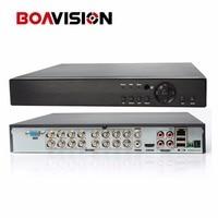 5 IN 1 AHD CVI TVI CVBS NVR 16Ch 1080P Security DVR NVR XVR 8Ch 3MP